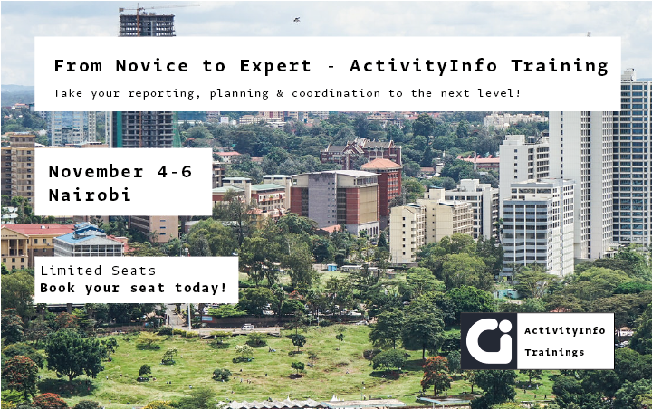 Join our next training in Nairobi, on November 4th-6th